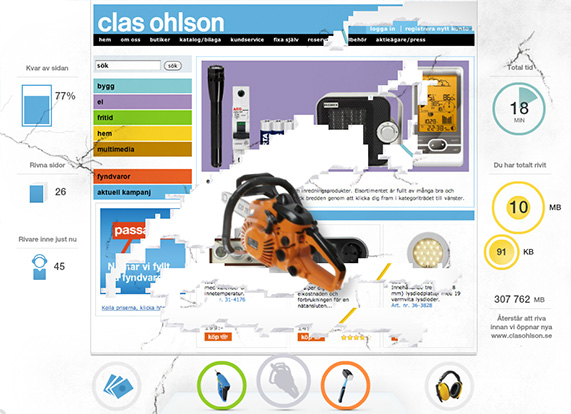 [Riv Clas Ohlson]